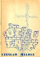 Miłosz Czesław Milosz Czeslaw Ocalenie Niezależny Niezalezny Instytut Wydawniczy NIW 1981 k011366 m-ws.pl Muzeum Wolnego Słowa www.m-ws.pl/muzeum/